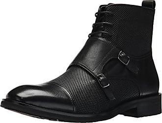 Zanzara Mens Jacque Motorcycle Boot, Black, 8 M US