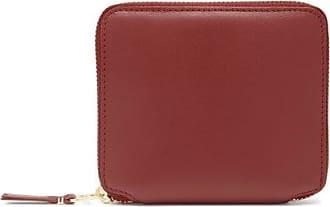 Comme Des Garçons Comme Des Garçons Wallet - Leather Zip Wallet - Womens - Red