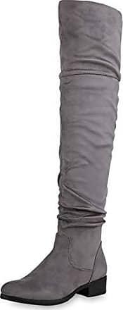 Schlupfstiefel (Klassisch) in Grau: Shoppe jetzt bis zu −33