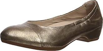 Dansko Womens Lisanne Ballet Flat, Gold Nappa, 37 M EU (6.5-7 US)