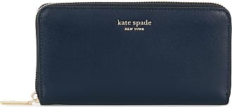 Kate Spade New York Carteira continental com zíper - Azul