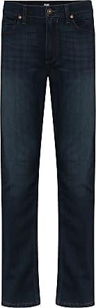 Paige Lennox slim-fit jeans - Azul