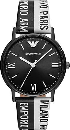 Emporio Armani Relógio Quartz Kappa - Homem - Preto - Único IT