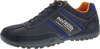 Details zu DOCKERS by Gerli 44VK001 790850 Herren Sneaker Washed Canvas Schuhe Khaki
