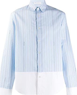 J.W.Anderson Camisa com recortes de listras - Azul