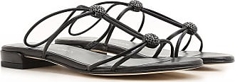 Stuart Weitzman Sandals for Women On Sale in Outlet, Black, Leather, 2017, 6