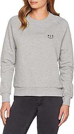 H.I.S Sweatshirt für DamenTrendiger Pullover in Blau mit