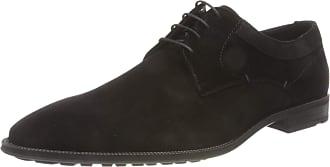 Lloyd Mens Justus Uniform Dress Shoe, Black, 10.5 UK