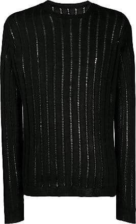 Uma Wang sheer-knit jumper - Black