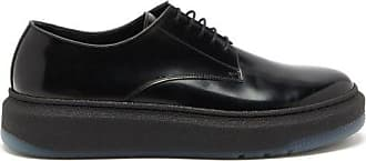 Paul Smith Soane Technical-sole Patent-leather Brogues - Mens - Black