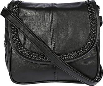 Schwarz Bag Street Damen Handtasche Damentasche Umhängetasche