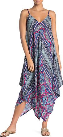 Tommy Bahama Riviera Tile Handkerchief Dress