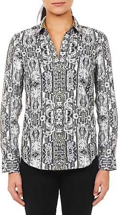 Robert Graham Womens Limited Edition Mary Alice Sport Shirt In Green Size: XS by Robert Graham