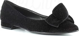 Generico Made in Italy Ballerina with Bow - Black Black Size: 6 UK