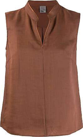 Ql2 Quelledue tunic blouse - NEUTRALS
