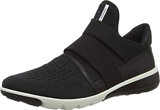 Ecco Womens Intrinsic 2 Low-Top Sneakers, Black, 7.5 UK