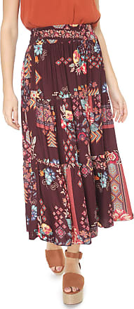 Dress To Saia Dress to Midi Lima Bordô