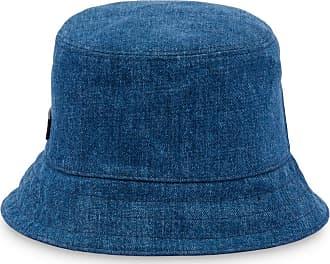 Miu Miu Cappello bucket con applicazione - Di colore blu