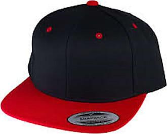 Yupoong Custom Snapback Cap - Black/Red