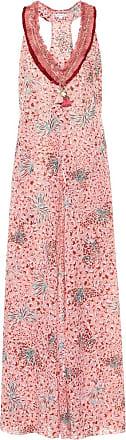 Poupette St Barth Nava printed cotton maxi dress