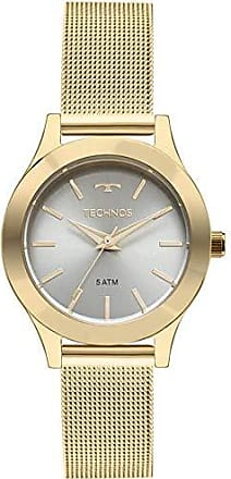 Technos Relógio Feminino Technos Analógico 2035Mkr/4V Ouro