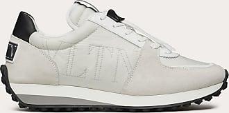 Valentino Garavani Valentino Garavani Uomo Vltn Roller Fabric Sneaker Man White/ Black Polyester 100% 40