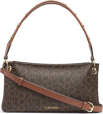 Calvin Klein Womens Raya Demi, Brown/Khaki/Luggage, One Size