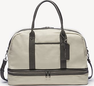 Sole Society Womens Mason Weekender Vegan Leather In Color: Natural Combo Bag From Sole Society