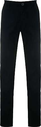 A|X Armani Exchange Calça alfaiataria com bolso - Azul