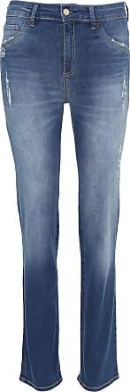 Dimy Calça Jeans dimy Reta Adele Azul