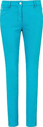 Basler 5-pocket jeans design Julienne Basler turquoise