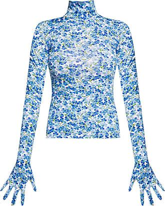 VETEMENTS Long-sleeved Top Womens Blue