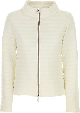 Save The Duck Jacket for Women On Sale, Coconut White, polyester, 2017, 10 6