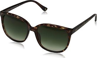 Joules Womens Wittering Sunglasses, Tortoise/Green, 54