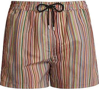 Paul Smith Signature Stripe Swim Shorts - Mens - Multi