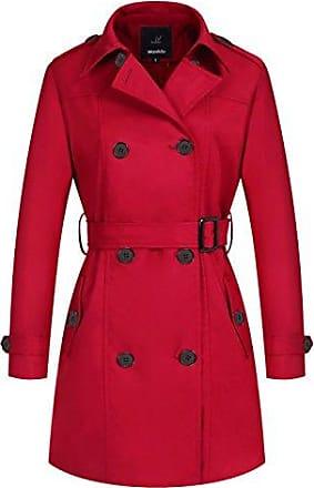 STATEN khujo Details Trenchcoat COLLAR Innenkragen zu SALE Mantel Style schwarz Damen 60 thrCxdQsB