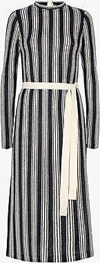 Three Graces London Verena Dress in Stripe Jersey