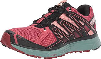 Salomon Salomon Womens Trail Running Shoes X-Mission 3 W, Pink (Garnet Rose/Trellis/Coral Almond), 4.5 UK