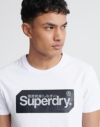 Superdry T-shirt con targhetta con logo Core