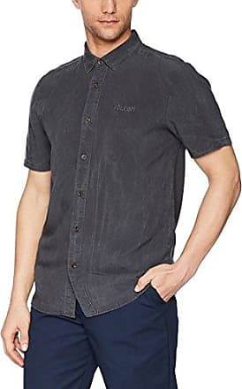 Volcom Mens Drag Dot Short Sleeve Button Up Shirt