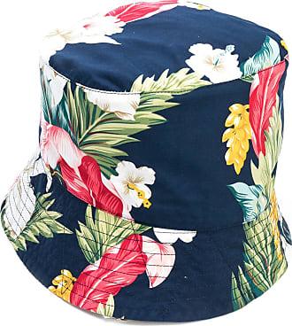 Engineered Garments Chapéu bucket com estampa tropical - Azul
