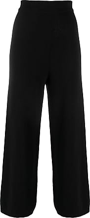 Opening Ceremony knitted flared high-waisted trousers - Black