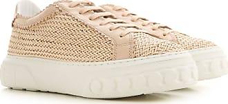 Casadei Sneaker für Damen, Tennisschuh, Turnschuh Günstig im Sale, Antik-Rosa, Leder, 2019, 36 37 38 40