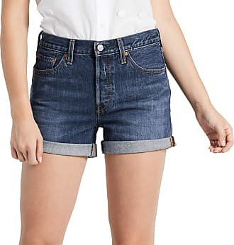 641f5aee23 Levi's Womens 501 Short Long (Blue Clue 0006), W23 (Size: 23