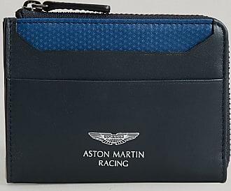 Aston Martin Monedero de Piel Core | Azul Marino