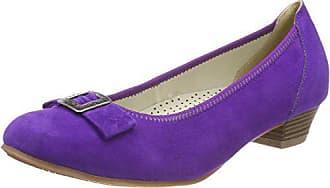 6212b28d Hirschkogel 3004550, Zapatos de tacón con Punta Cerrada para Mujer, Morado  (Lila 060