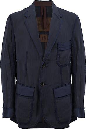 Ziggy Chen cargo blazer - Blue