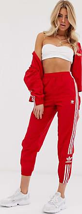 pantalon.adidas lock up track rouge