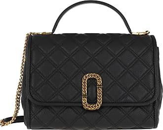 Marc Jacobs Satchel Bags - The Status Top Handle Bag Leather Black - black - Satchel Bags for ladies
