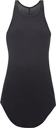 Rick Owens Racerback Rib-knitted Tank Top - Womens - Black